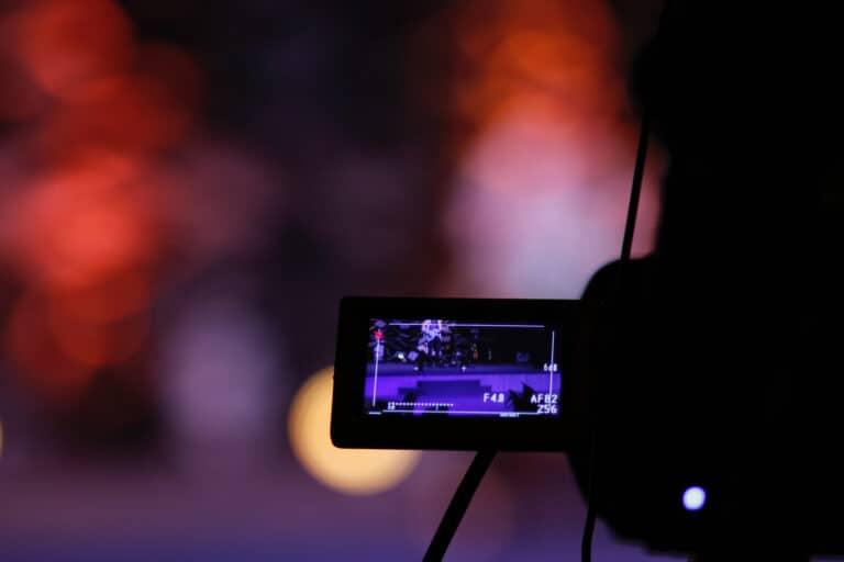 camcorder night light