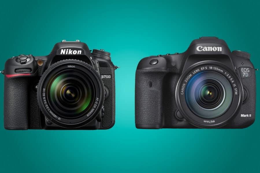 canon versus nikon
