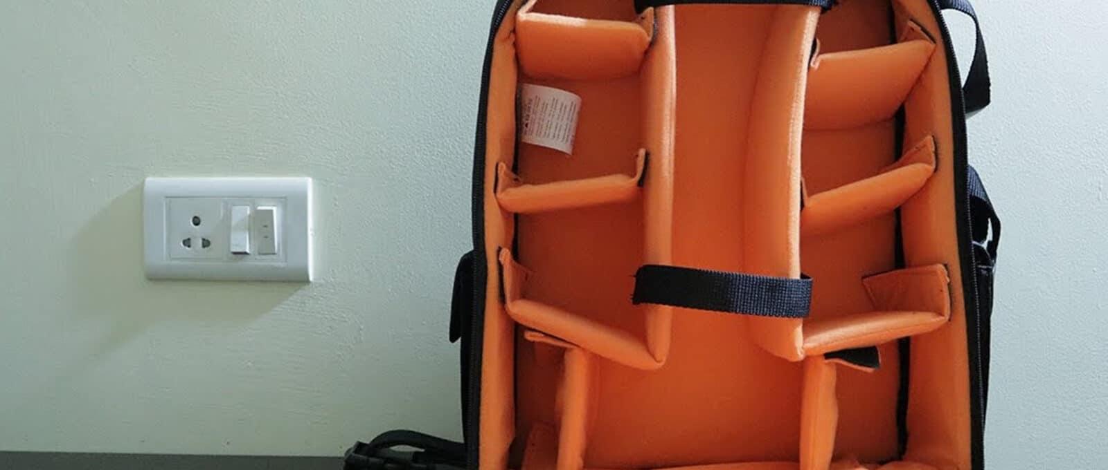 amazonbasic dslr backpack