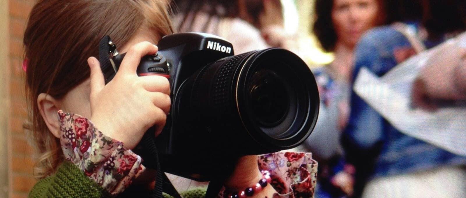 nikon camera little girl