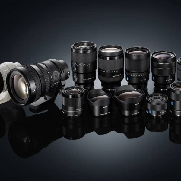 sony camera lenses